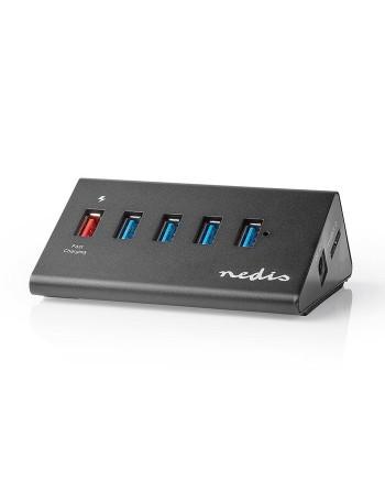 NEDIS UHUBUP3510BK USB Hub...