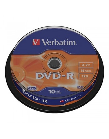 DVD-R Verbatim 4,7GB/120MIN...