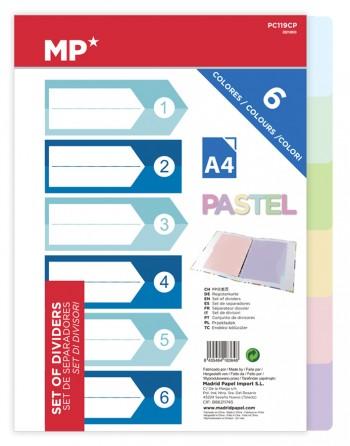 MP χρωματιστά διαχωριστικά...