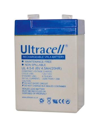 Ultracell UL4.5-6 Μπαταρία...