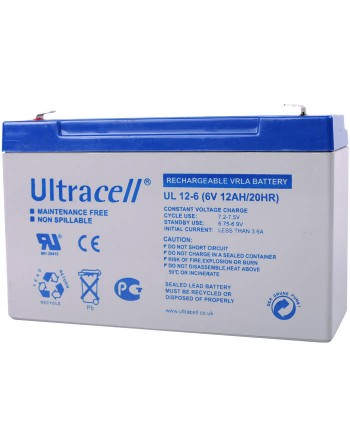 Ultracell UL12-6 Μπαταρία...
