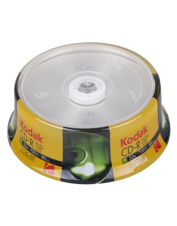 KODAK CD-R 25-Pack 52x...