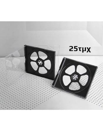 Πλαστική θήκη για 4 CD/DVD...