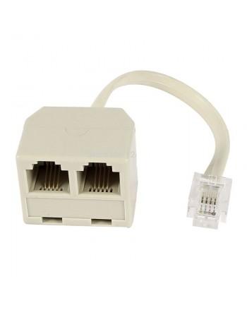 Powertech adapter 6p4c 1x...