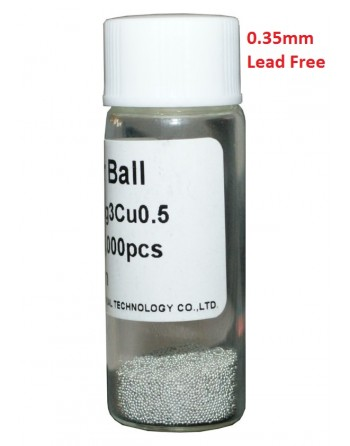 Solder Balls 0.35mm, Lead...