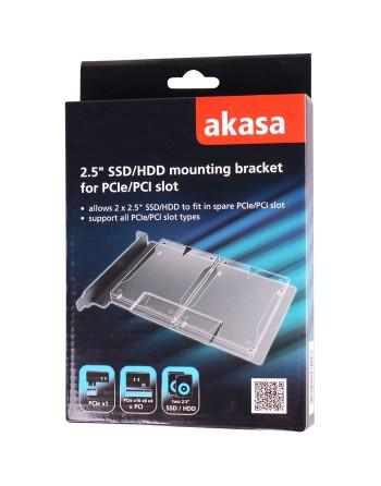 """Akasa 2.5"""" SSD/HDD mounting..."""
