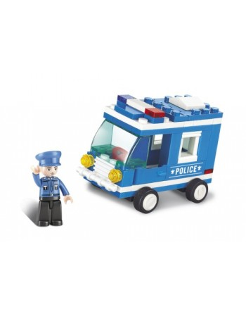 Sluban Police Van 64 τμχ
