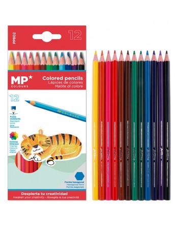 MP χρωματιστές ξυλομπογιές...