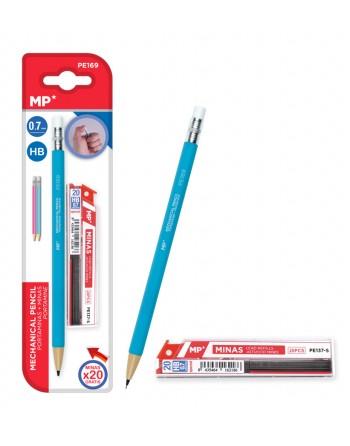 MP Mηχανικό μολύβι με γόμα,...