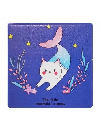 Καθρεφτάκι τσάντας Blue cat...