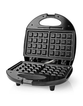 Nedis KAWP200BK Waffle...