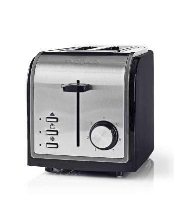 Nedis KABT120EBK Toaster 2...
