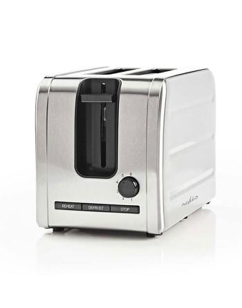 Nedis KABT210EAL Toaster 2...