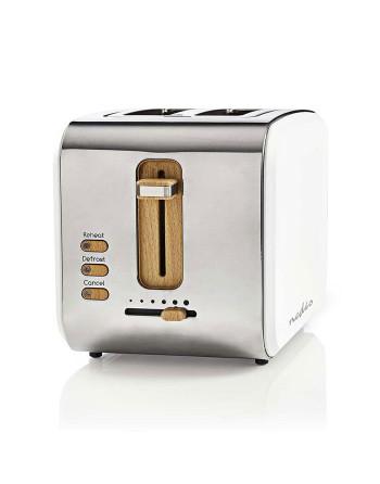 Nedis KABT510EWT Toaster 2...
